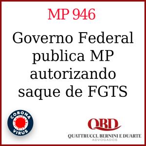 Governo publica MP autorizando saque do FGTS